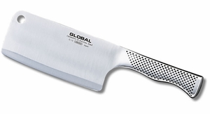 "Global 6.25"" Meat Cleaver - Click to enlarge"