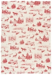 Holiday Toile Towel