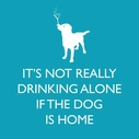 If the Dog is Home Paper Beverage Napkins