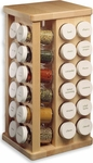 J.K. Adams 48 Bottle Wooden Spice Rack