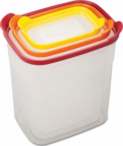 Joseph Joseph 6 Piece Nest Tall Storage Container Set with Lids - Click to enlarge