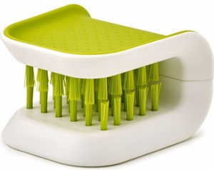 Joseph Joseph Bladebrush Knife Cleaner- Green - Click to enlarge