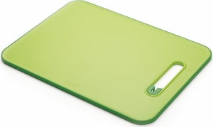 Joseph Joseph Slice & Sharpen Cutting Board Large- Green - Click to enlarge