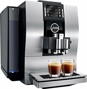 Jura Refurbished Z6 Automatic Coffee Center Silver - Click to enlarge