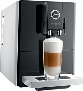 Jura Refurbished A9 Platinum Automatic Coffee Center - Click to enlarge