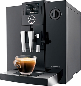 Jura Refurbished F8 TFT Automatic Coffee Center - Click to enlarge