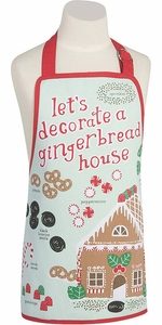 Kid's Gingerbread House Apron - Click to enlarge