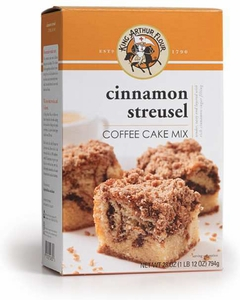 King Arthur Cinnamon Streusel Coffee Cake Mix - Click to enlarge