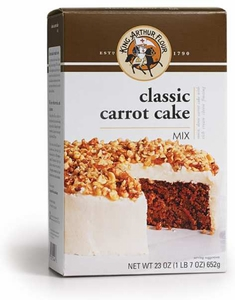 King Arthur Classic Carrot Cake Mix with Frosting - Click to enlarge