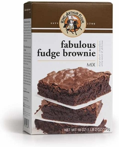 King Arthur Fabulous Fudge Brownie Mix - Click to enlarge