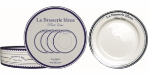 Kiss That Frog 16 Piece French Brasserie Bleue Set - Click to enlarge