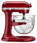 KitchenAid&#174 Professional 6500 Design Bowl Lift Stand Mixer with Glass Bowl