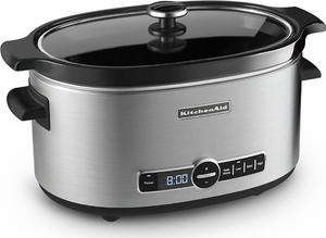 KitchenAid® Stainless Steel Slow Cooker - Click to enlarge