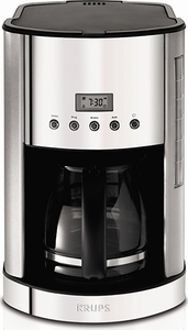 Krups Breakfast Set 12 Cup Glass Carafe Coffee Maker - Click to enlarge