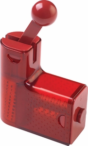 Kuhn Rikon Red Ratchet Cheese Grater - Click to enlarge
