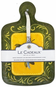 Le Cadeaux Cheeseboard with Knife - Click to enlarge