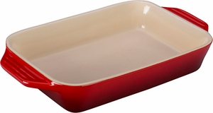 "Le Creuset 10.5"" x 7"" Rectangular Dish - Click to enlarge"