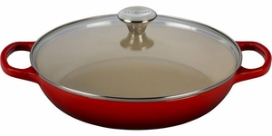 Le Creuset 3.5 Quart Buffet Casserole with Glass Lid - Click to enlarge