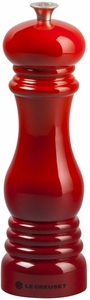 """Le Creuset 8"""" Pepper Mill - Cerise - Click to enlarge"""