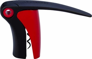 Le Creuset Compact Lever Screwpull Red - Click to enlarge