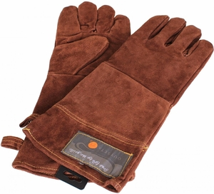 Leather Grill Gloves - Click to enlarge