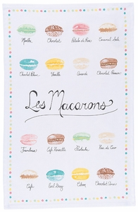 Les Macarons Towel - Click to enlarge
