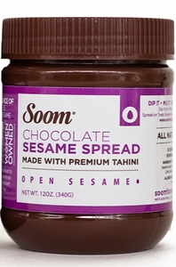 Soom Chocolate Sesame Spread 12 oz - Click to enlarge