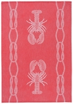 Lobster Jacquard Towel