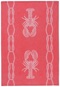 Lobster Jacquard Towel - Click to enlarge