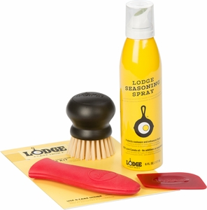 Lodge Cast Iron Care Kit - Click to enlarge