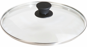 Lodge Logic Glass Cover with Silicone Knob - Click to enlarge