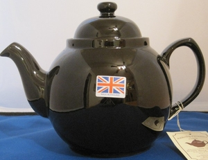 Magpie Brown Betty Teapot - Click to enlarge