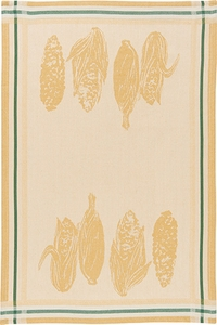 Market Corn Jacquard Kitchen Towel - Click to enlarge