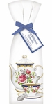 Mary Lake-Thompson Set of 2 White Teapot Flour Sack Towels