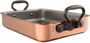Mauviel M'Heritage Copper Roaster With Cast Iron Handle