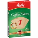 Melitta Coffee Maker Filter Papers #1 Pack 40