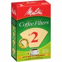Melitta Coffee Maker Filter Papers #2 Pack 100