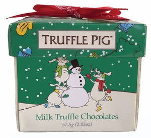 Milk Chocolate Truffle Pigs - Click to enlarge