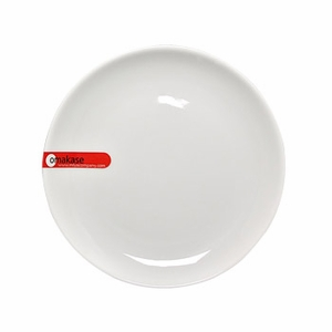 "Miya 6"" White Round Appetizer Plate - Click to enlarge"
