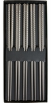 Miya Set of 5 Stainless Steel Chopsticks