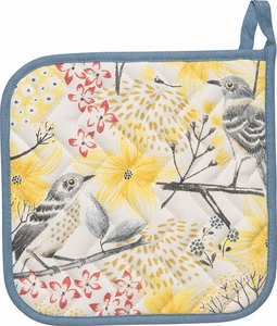 Mockingbird Potholder - Click to enlarge