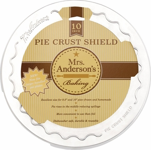 Mrs. Anderson's Pie Crust Shield - Click to enlarge
