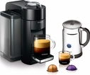 Nespresso Evoluo Deluxe Espresso Maker Bundle Piano Black