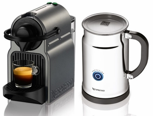 Nespresso Inissia Bundle - Click to enlarge