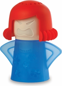 New Metro Angry-Mama Microwave Cleaner Red and Blue - Click to enlarge