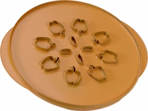 Nordicware Leaves & Apple Pie Top Cutter - Click to enlarge