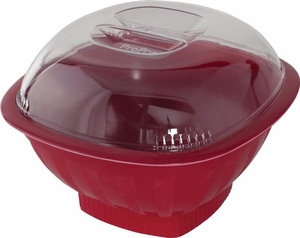 Nordicware Red Microwave Pro Pop Popcorn Popper - Click to enlarge