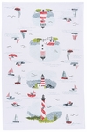 Now Designs Lighthouses Towel