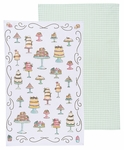 Now Designs Set of 2 Just Desserts Towels