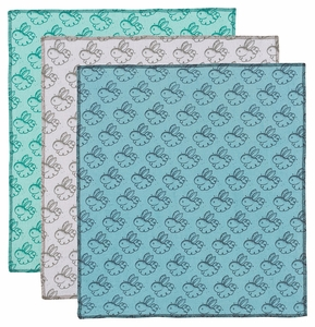 Now Designs Set of 3 Dust Bunny Cloths - Click to enlarge